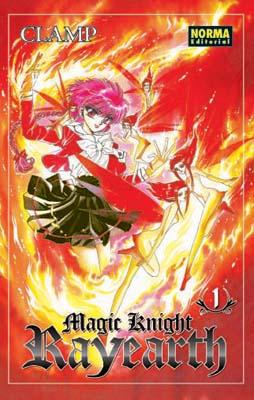 Manga Magic Knight Rayearth