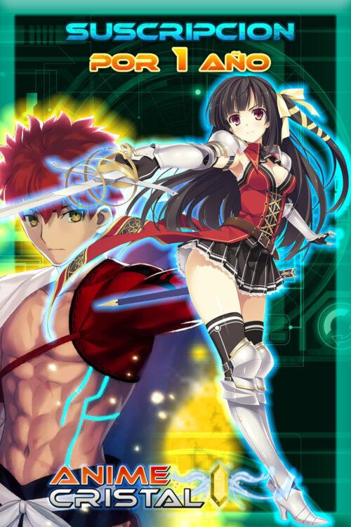 Suscripcion Online Anime Cristal 4TB