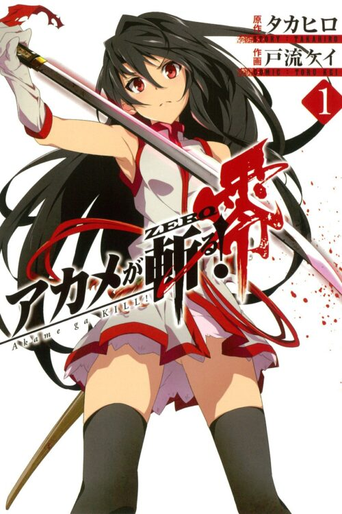Manga Akame ga Kill! Zero