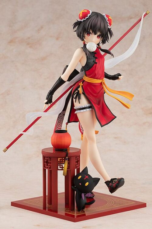 Estatua Megumin Light Novel China Dress