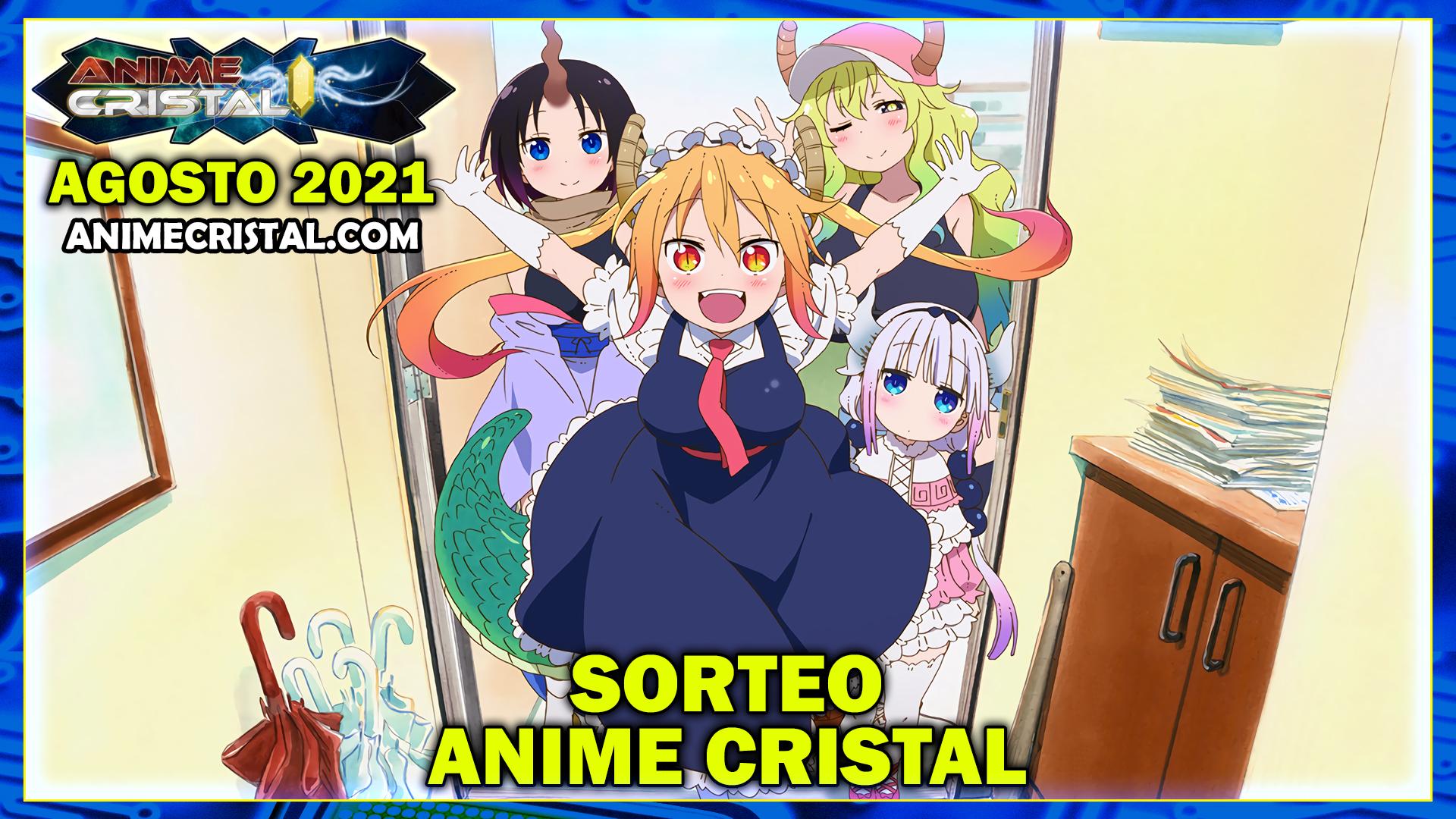 Sorteo Anime Cristal Agosto 2021