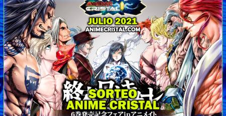 Sorteo Anime Cristal Julio 2021