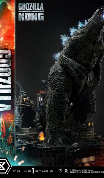 Estatua Godzilla vs Kong Final Battle