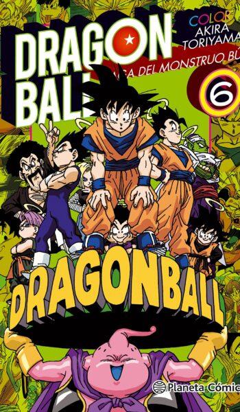 Manga Dragon Ball Color Bu 06