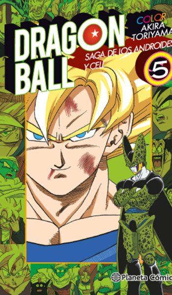 Manga Dragon Ball Color Cell 05