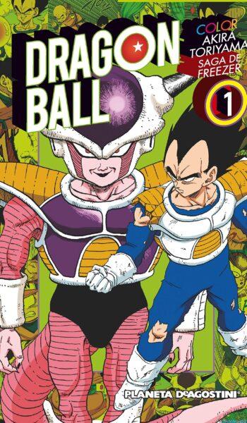 Manga Dragon Ball Color Freezer 01