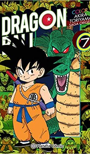 Manga Dragon Ball Color Origen y Red Ribbon 07