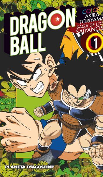 Manga Dragon Ball Color Saiyan 01