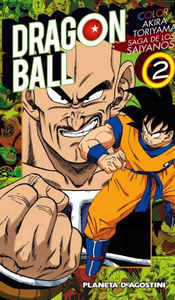 Manga Dragon Ball Color Saiyan 02