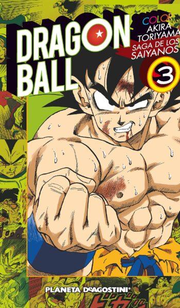 Manga Dragon Ball Color Saiyan 03