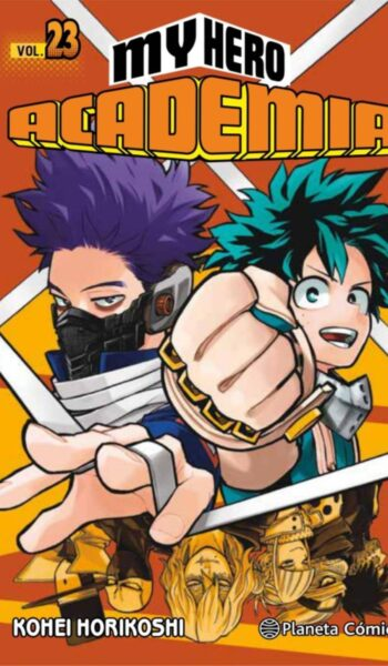 Manga My Hero Academia 23