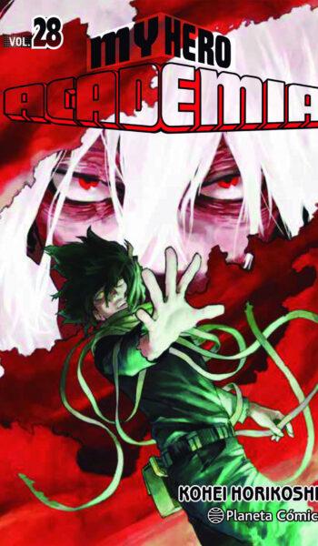 Manga My Hero Academia 28