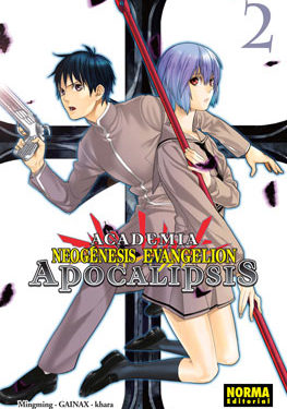 Academia Neogenesis Evangelion Apocalipsis manga 2
