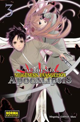 Academia Neogenesis Evangelion Apocalipsis manga 3
