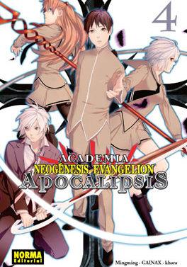 Academia Neogenesis Evangelion Apocalipsis manga 4