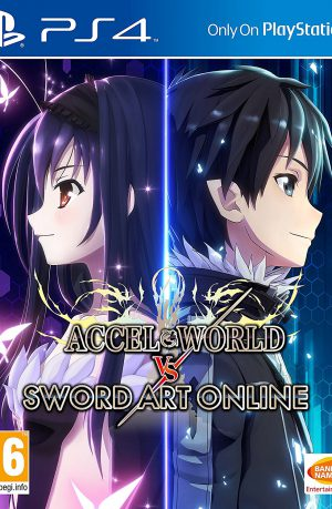 Accel World vs Sword Art Online PS4 Portada