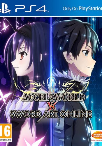 Accel World vs Sword Art Online PS4 Portada