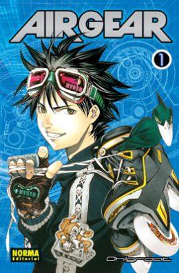 Air Gear manga tomo 1