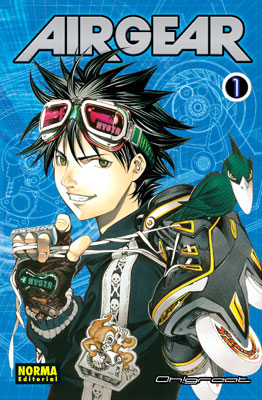 Air Gear manga tomo 1