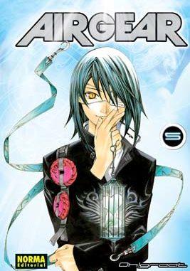 Air Gear manga tomo 5
