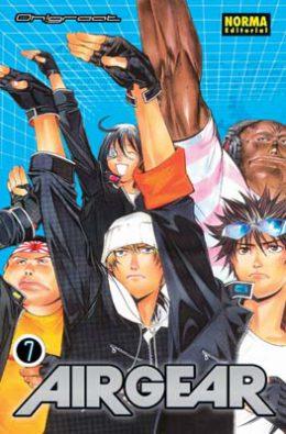 Air Gear manga tomo 7