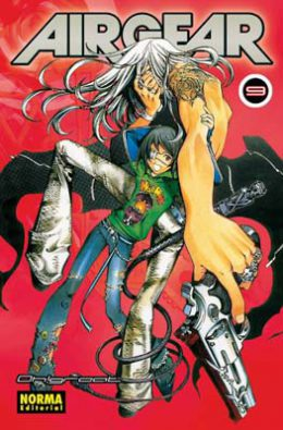 Air Gear manga tomo 9