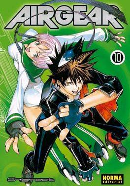 Air Gear manga tomo 10