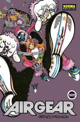 Air Gear manga tomo 12