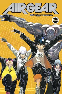 Air Gear manga tomo 14