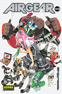 Air Gear manga tomo 19
