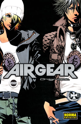 Air Gear manga tomo 22