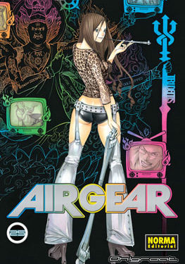 Air Gear manga tomo 25