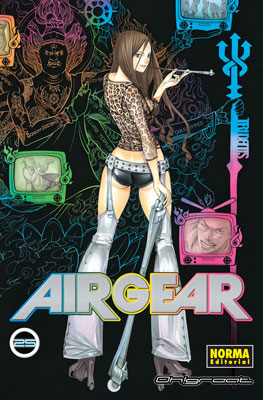 Air Gear manga tomo 25