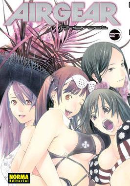 Air Gear manga tomo 27