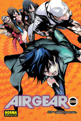 Air Gear manga tomo 28