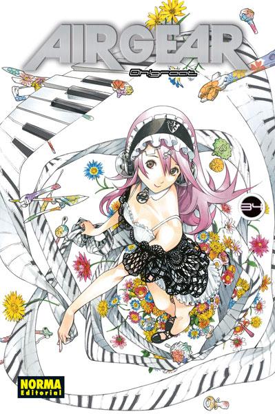 Air Gear manga tomo 34
