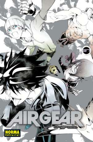 Air Gear manga tomo 37