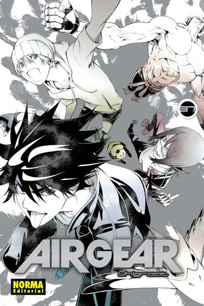 Air Gear manga tomo 37