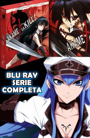 Akame ga Kill! Bluray Serie Completa