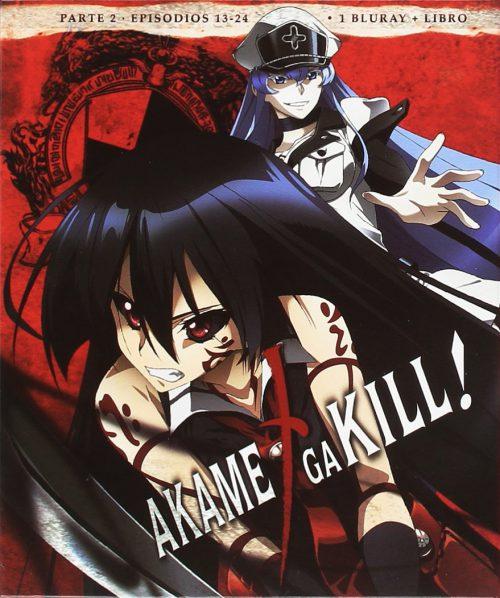 Akame ga Kill! Episodios 13 a 24 Edicion Bluray