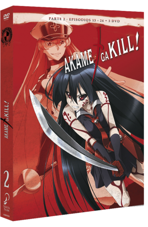 Akame ga Kill! Episodios 13 a 24 Edicion DVD
