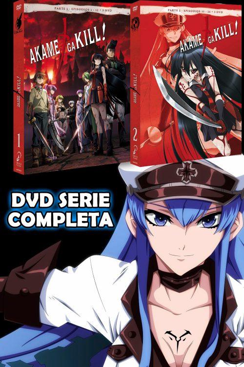Akame ga Kill! DVD Serie Completa