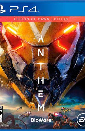 Anthem PS4 Portada