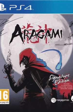 Aragami PS4 Portada