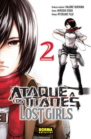Ataque a los Titanes Lost Girls Manga 02