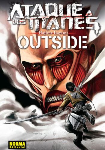 Ataque a los Titanes Outside Manga