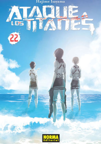 Ataque a los Titanes manga tomo 22