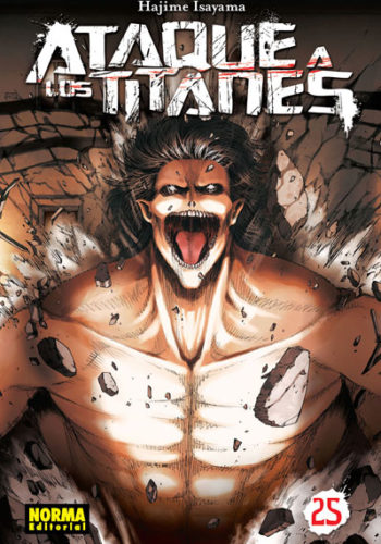 Ataque a los Titanes manga tomo 25