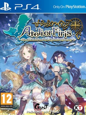 Atelier Firis The Alchemist and the Mysterious Journey PS4 Portada