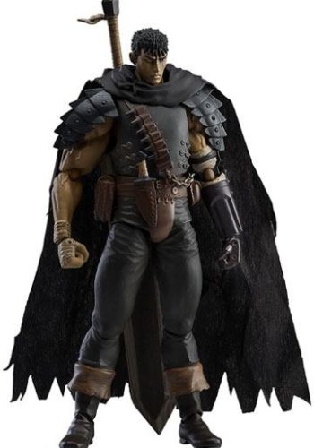 Berserk Figura Figma Guts Black Swordsman Version Repaint Edicion 01